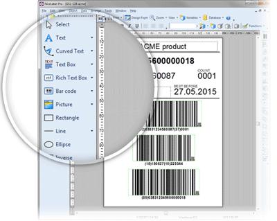 NiceLabel Designer Pro Tools