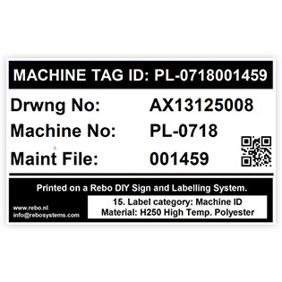 Machine Tag ID