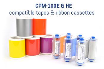 CPM-100E & HE teipit ja mustenauhat