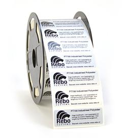 Industriële Polyester etiketten