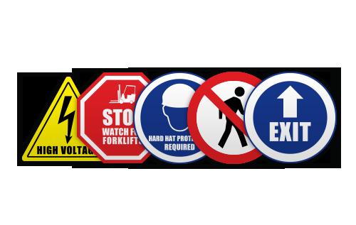 Varoitusmerkit ja -tarrat