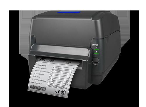 Kuvassa SMS-430 tulostin