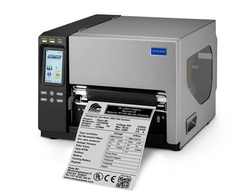 SMS-900 tulostin on suunniteltu tuottamaan suuria ja pitkäkestoisia tarramerkintöjä.