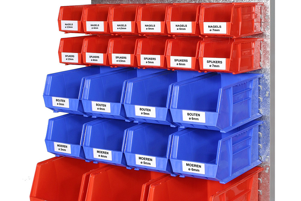 Säilytysastian etiketit, roskakorin etiketit
