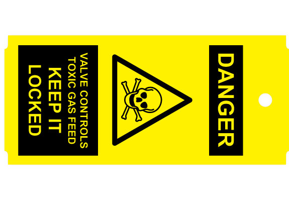 Lock Out / Tag Out -tunnisteet